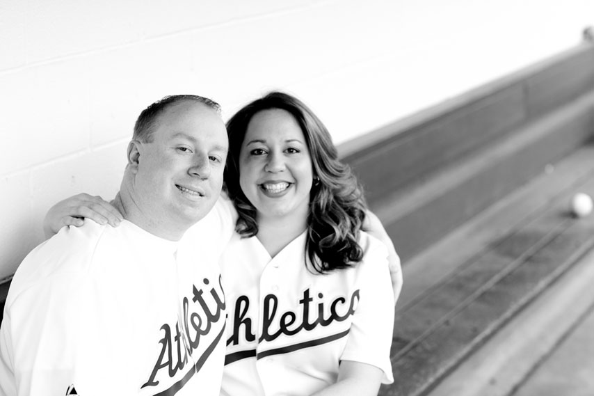Engagement_Oakland_Athletics_baseball_lovelight_photo