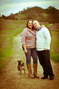 Engagement_hills_dog_Lovelight_Photo