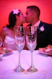 Bride_groom_kiss_reception_Lovelight_photo