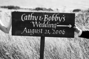 TheSeaRanch_wedding_sign_Lovelight_Photo