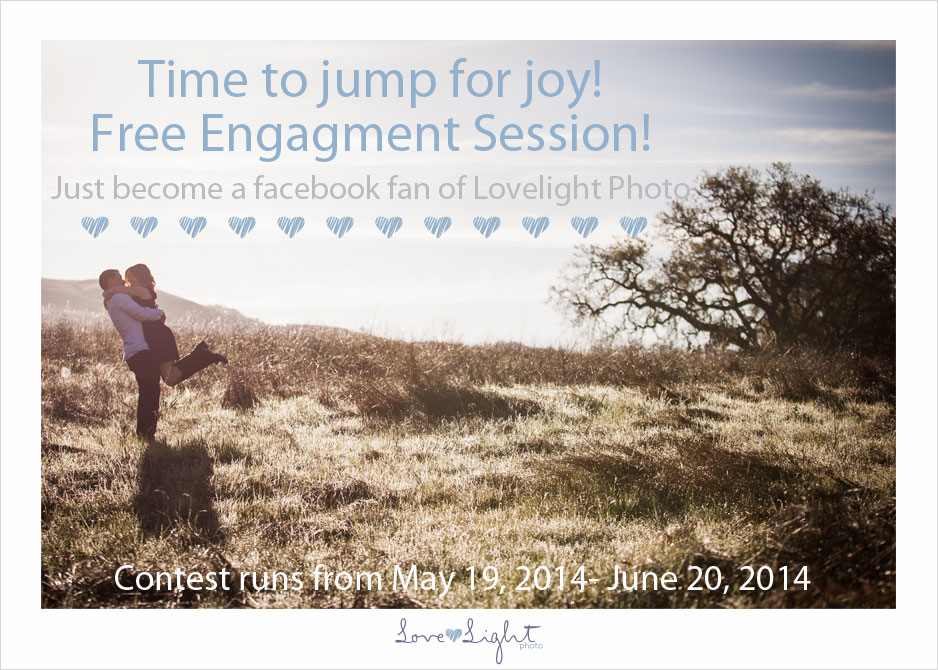 free engagement session photography contest