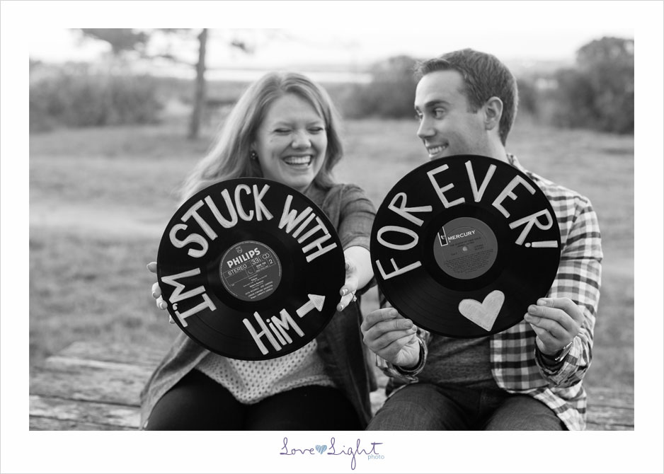 engagement photo records