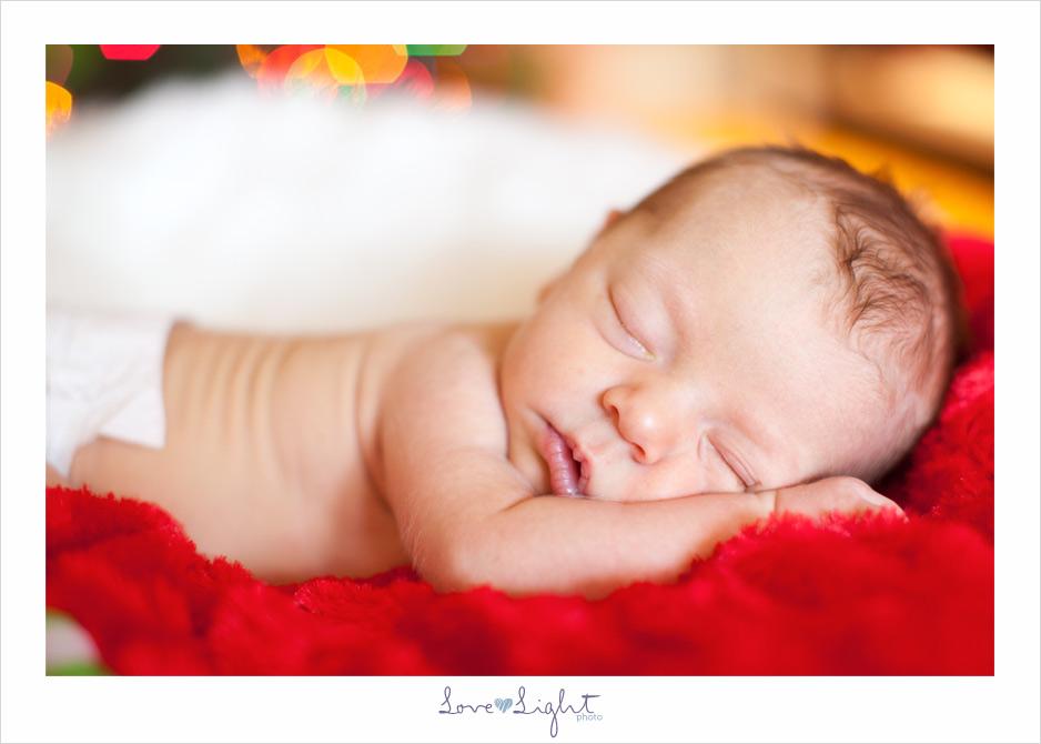 newborn family christmas