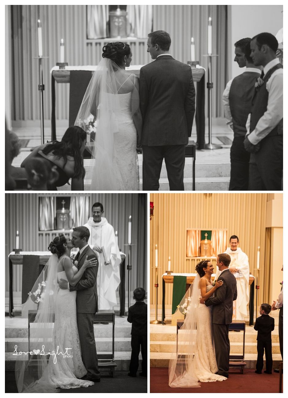 St Raymond Catholic Church Wedding