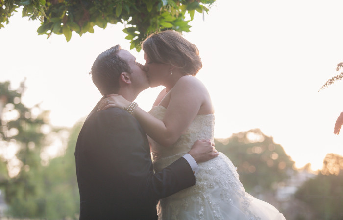 Love is in the air: Kayla and Chris Luttrell's wedding in the east bay