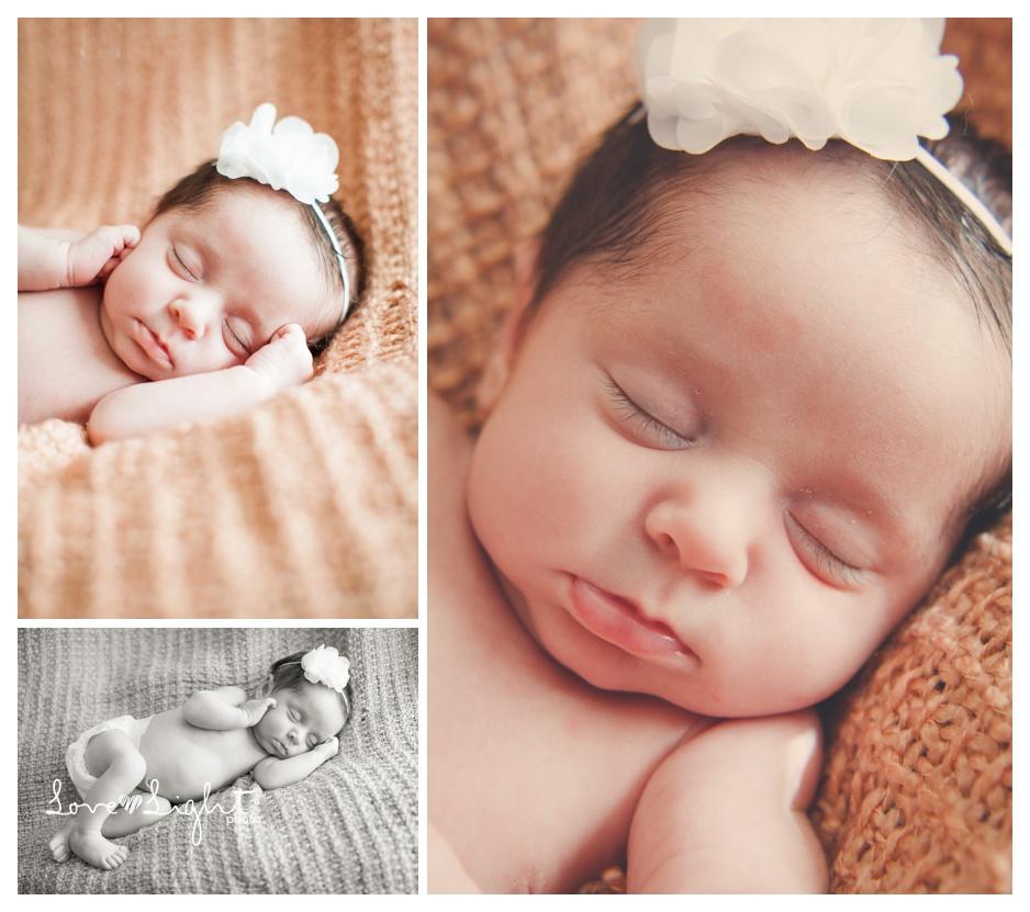 Newborn baby girl Audrey