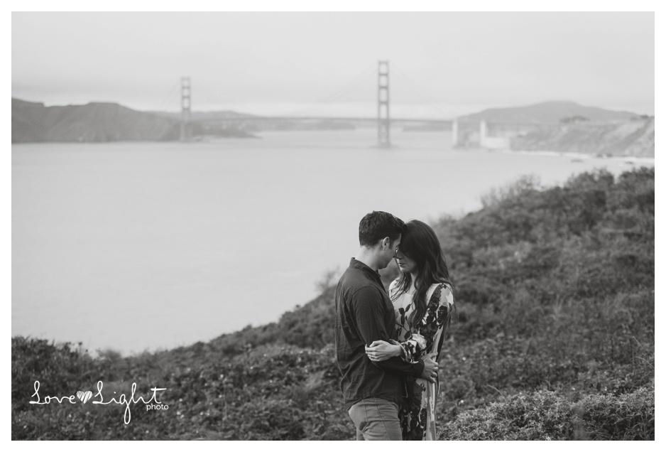 Lands End Engagement shoot