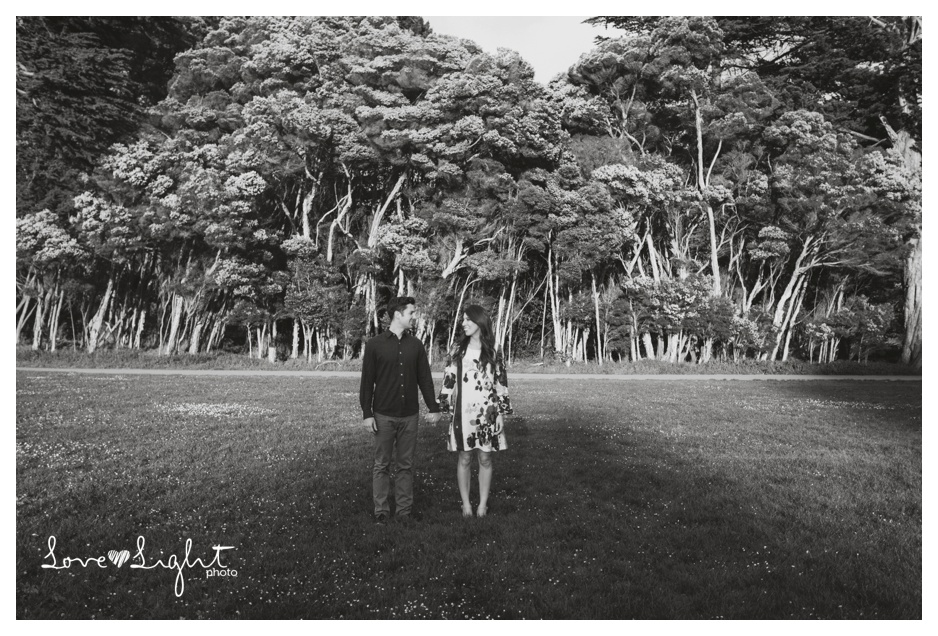 Golden Gate Park Engagement shoot
