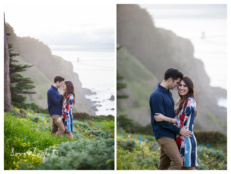 Lands End Engagement shoot