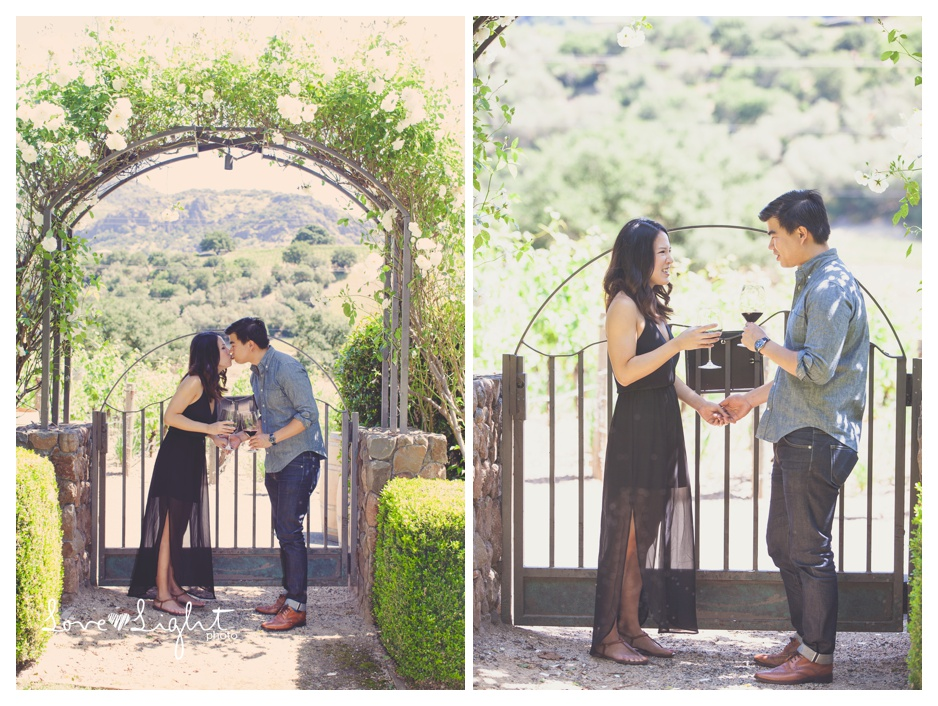 Pineridge winery napa proposal