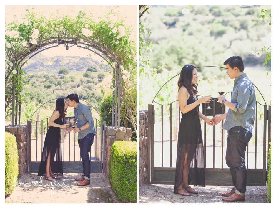 Pineridge winery napa proposal