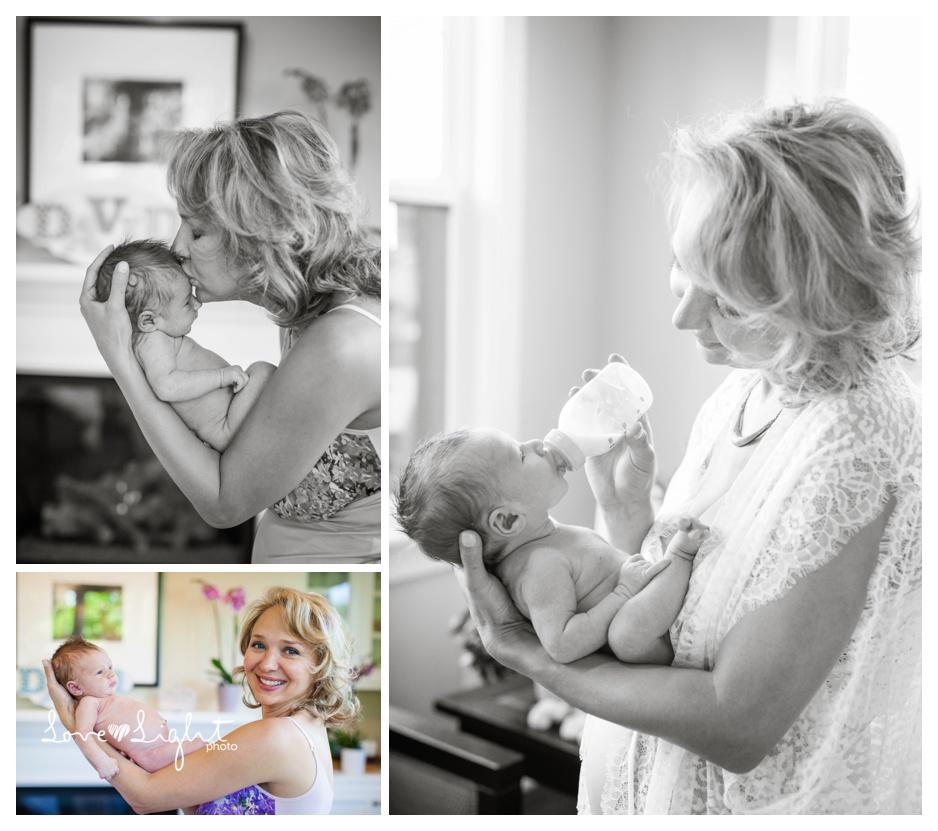 Newborn baby boy photo shoot