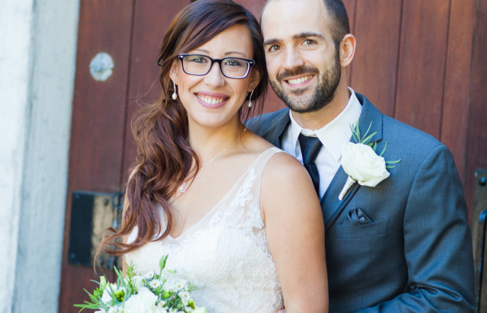 A Wente wedding full of love, warm blankets, dinosaurs and a nerf game: Sydney and Chris