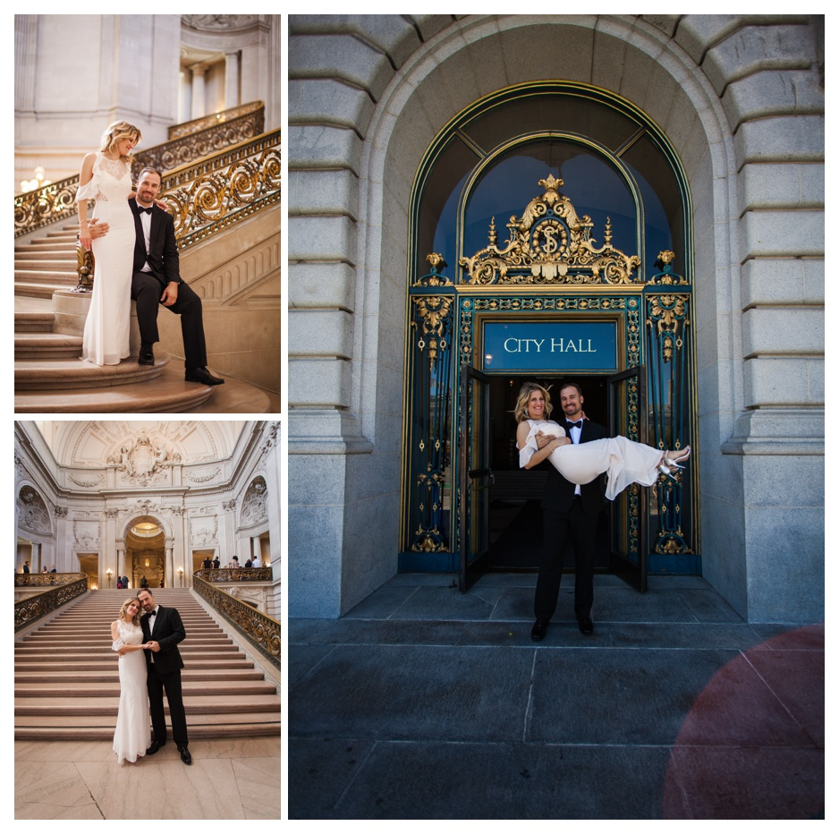 city hall wedding san francisco