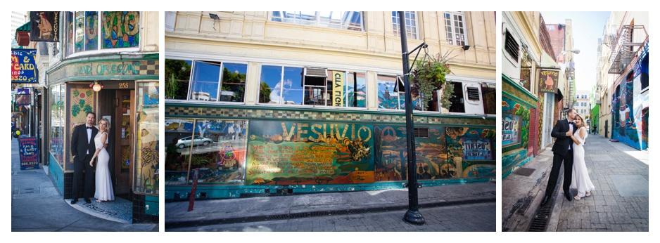 Vesuvio Bar Wedding San Francisco