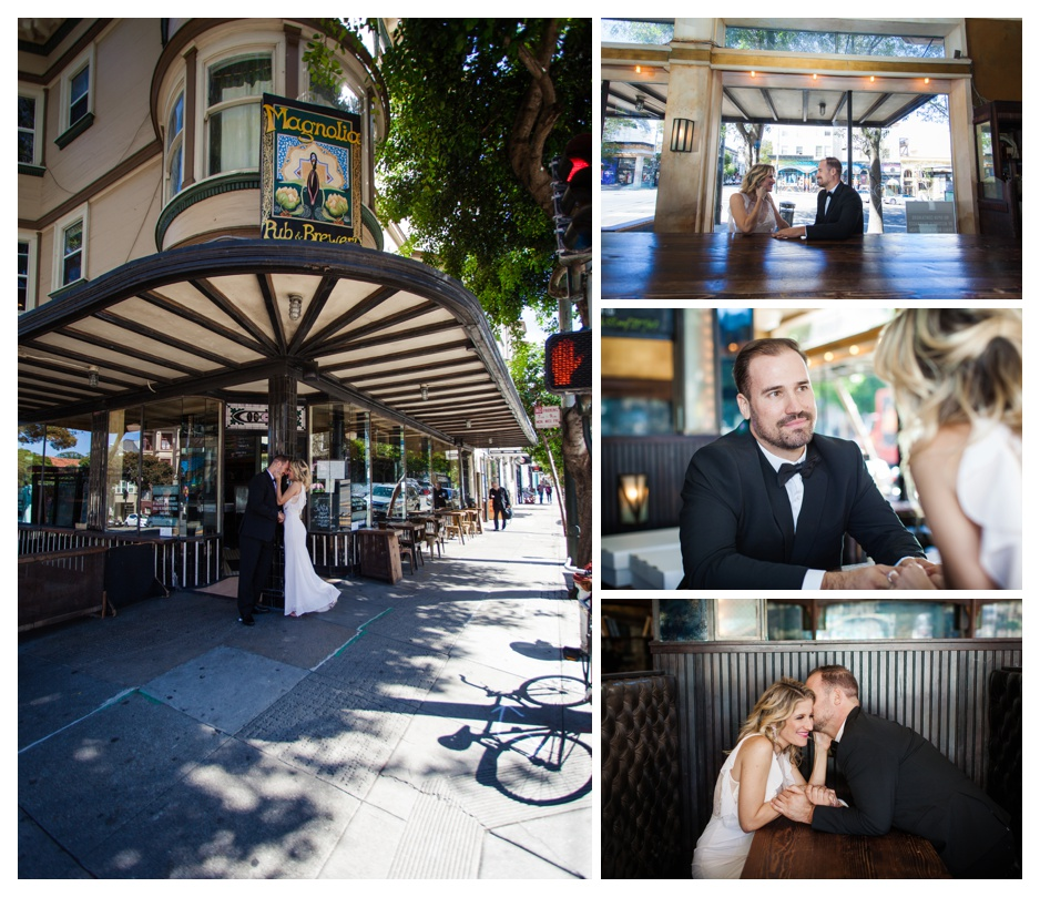Haight street san francisco wedding